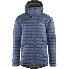 Rab Microlight Alpine Long Jacket Men blue